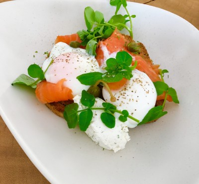 Salmon & Watercress Eggs