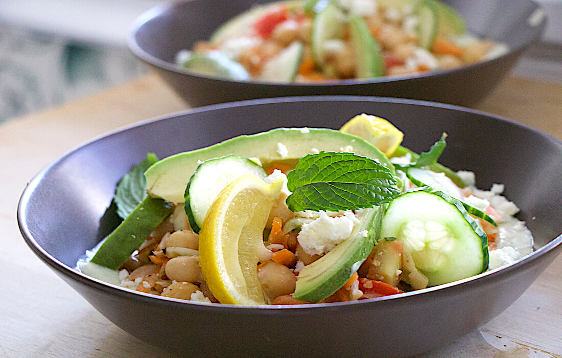 Chickpea Salad for Surfers