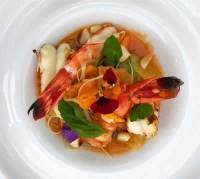 Papaya Shrimps